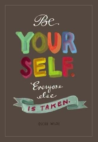be yourself oscar wilde